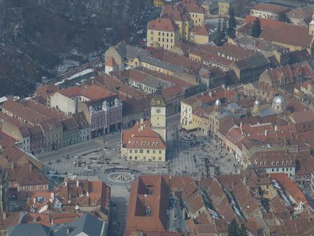 Poze Romania: Panorama Piata Sfatului