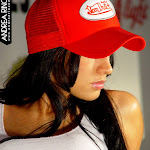 Andrea Rincon, Selena Spice Galeria 56 : Camiseta Blanca, Gorra y Tanga Roja – AndreaRincon.com Foto 36