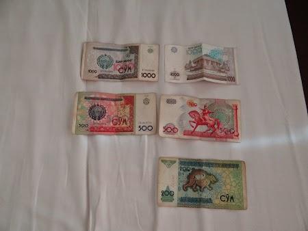 22. Bancnote Uzbekistan.JPG