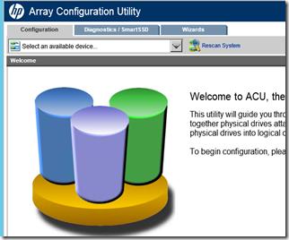 MPECS Inc  Blog: HP P420i Smart Array: Adding 4 New Disks to a RAID