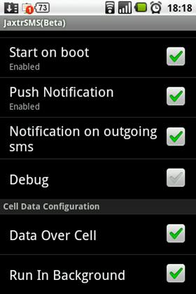 free sms sender app java