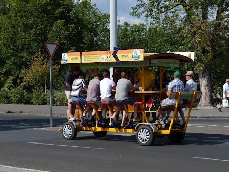 O bicicleta mai mare prin Budapesta