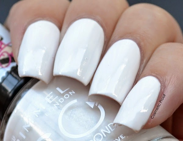 Rimmel London White Hot Love Swatch