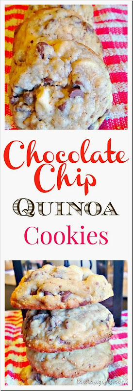 chocolate chip quinoa cookies 2