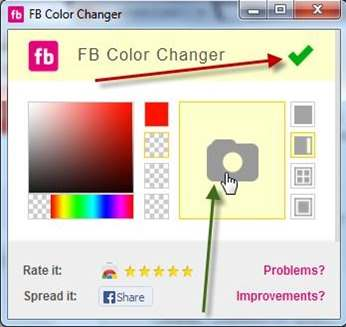 facebook-colore-changer