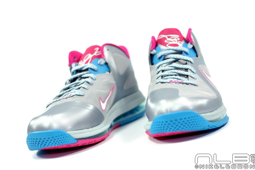 free shipping b43c9 55d9f ... The Showcase Nike LeBron 9 Low WBF London Fireberry ...