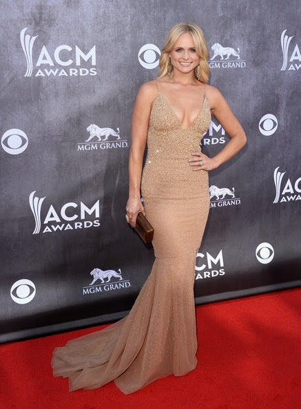 Miranda Lambert attends the 49th Annual Academy Of Country Music Awards