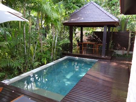 Hotel Sea Sand Sun Pattaya: Piscina langa vila