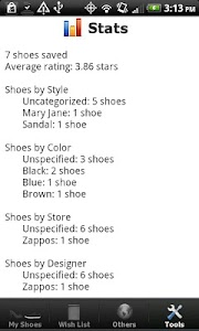 Shoe Collection screenshot 3