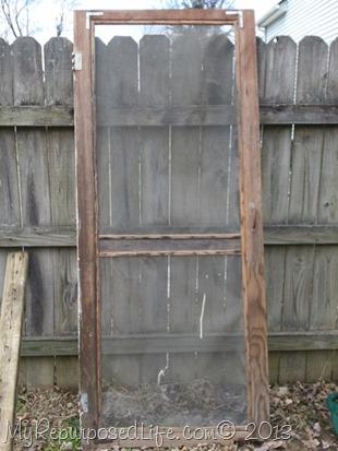 vintage screen door