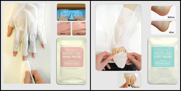 Voesh New York Hand and Foot Masks