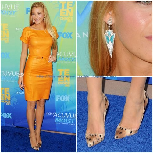 Blake Lively - 2011 Teen Choice Awards