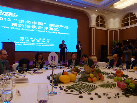Go China Summit - banchet guvernamental: Grand Ceremony