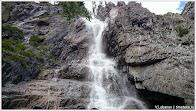 Водопад. Алтай. Фото В.Лобанова. www.timeteka.ru