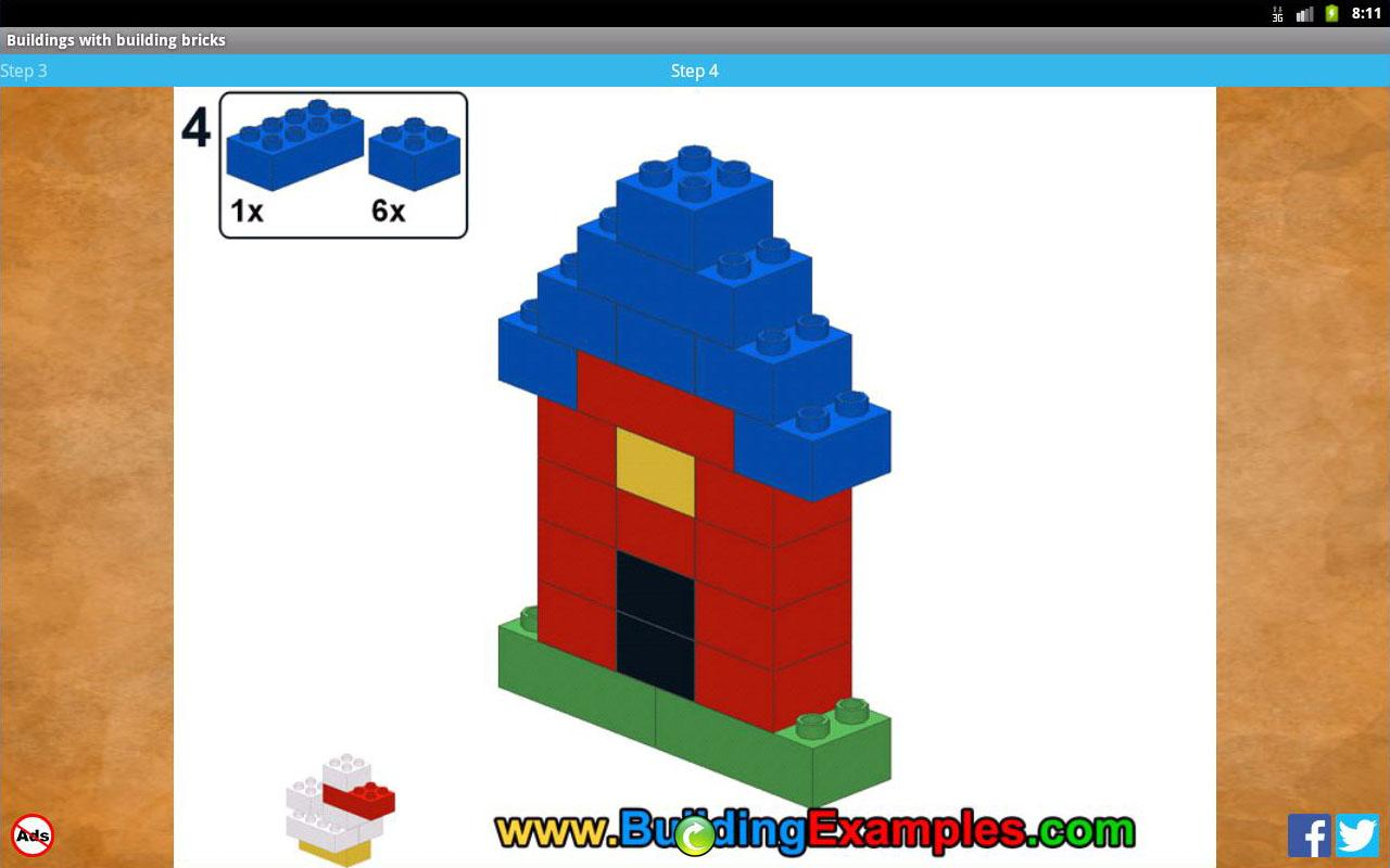 Buildings with building bricks - screenshot