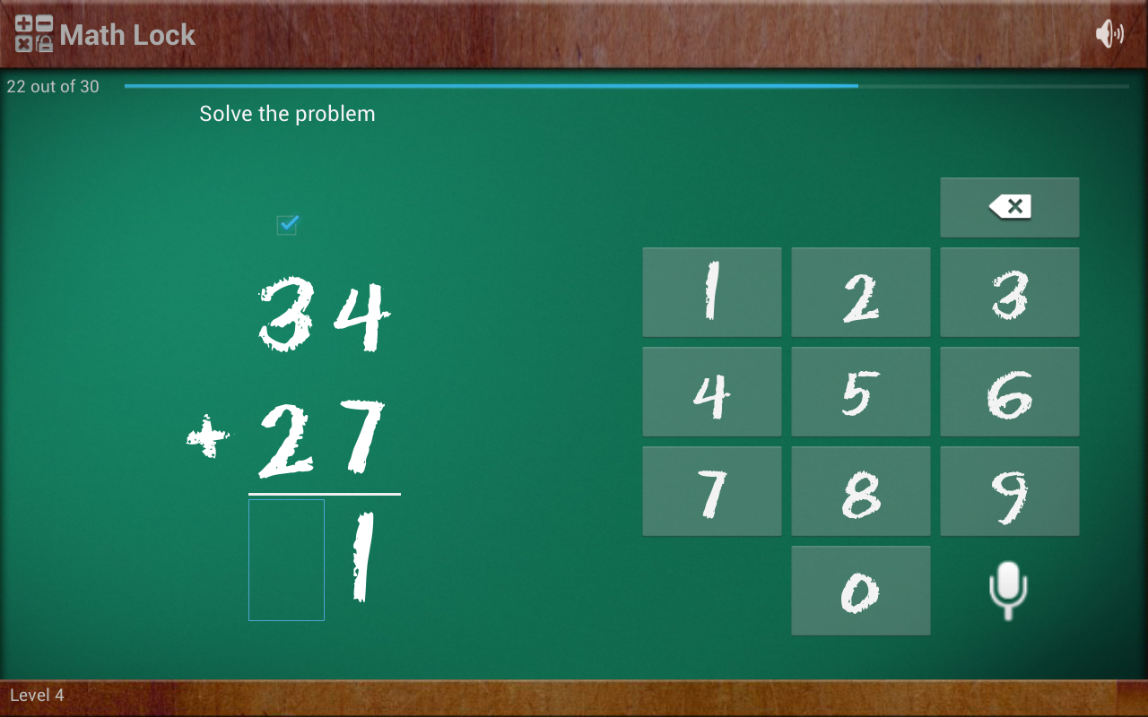 Math Lock Lite - screenshot