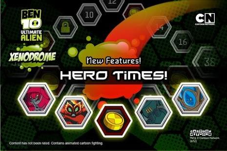 Ben 10 Xenodrome- screenshot thumbnail