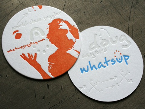 Round-Juggling-Business-Cards
