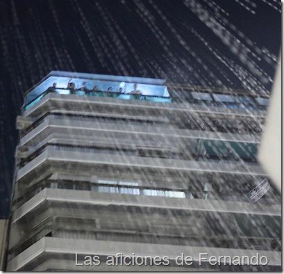 Llueve a cubos