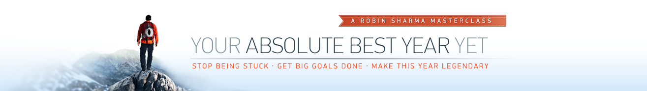 Robin Sharma – Your Absolute Best Year Yet 2015