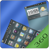 Theme Glass 360 Launcher