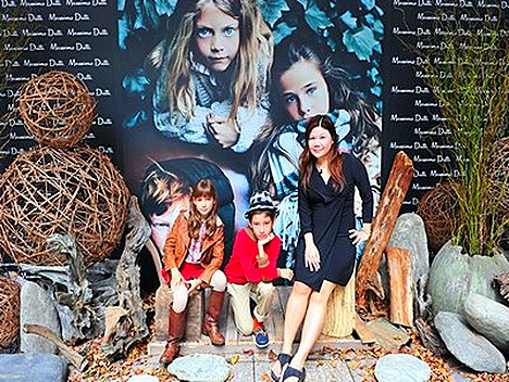 Massimo Dutti Autumn Winter  2011 Kids Collection Singapore Launch BeauteRunway