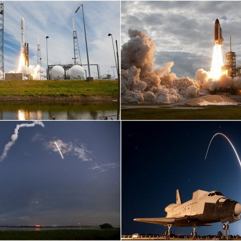 Gorgeous Photos of Rocket Launches by Ben Cooper