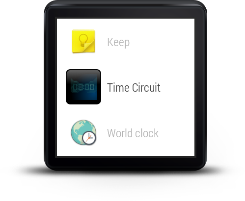 Wear Time Circuit - Watch Face - screenshot