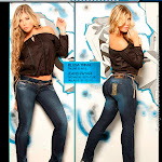 Angelica Jaramillo y Sofia Jaramillo Modelando D'Axxys Jeans Foto 2