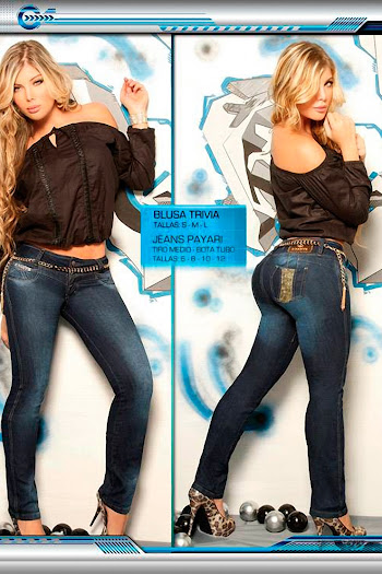 Angelica Jaramillo y Sofia Jaramillo Axxys Jeans Foto 2