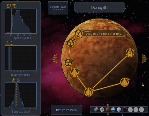SWiLE's Gaming Reviews and How Tos: SpaceChem Walkthrough Danopth