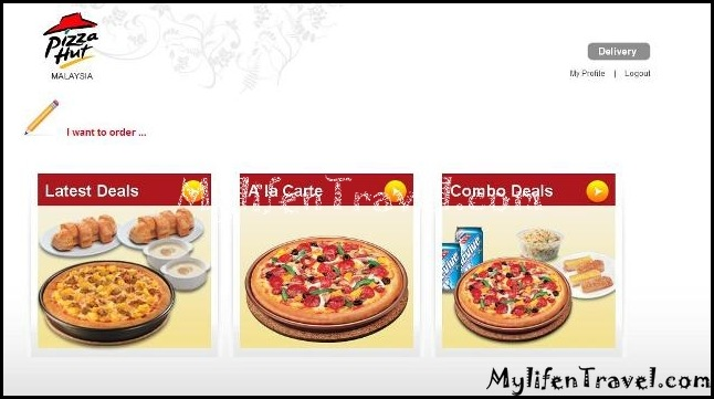 Pizza Hut online 14
