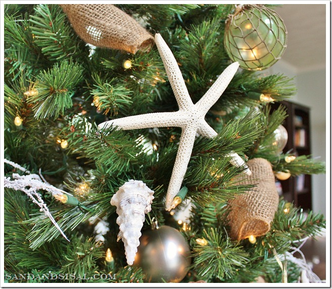 Coastal Christmas Ornaments