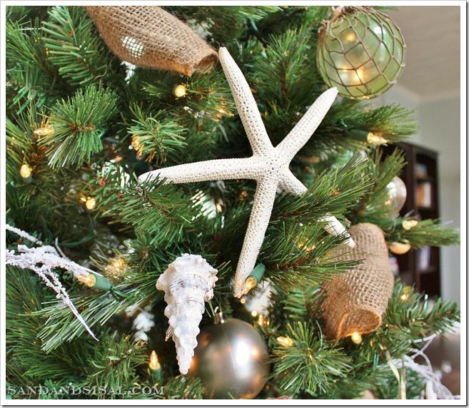 coastal christmas ornaments - Coastal Christmas Tree