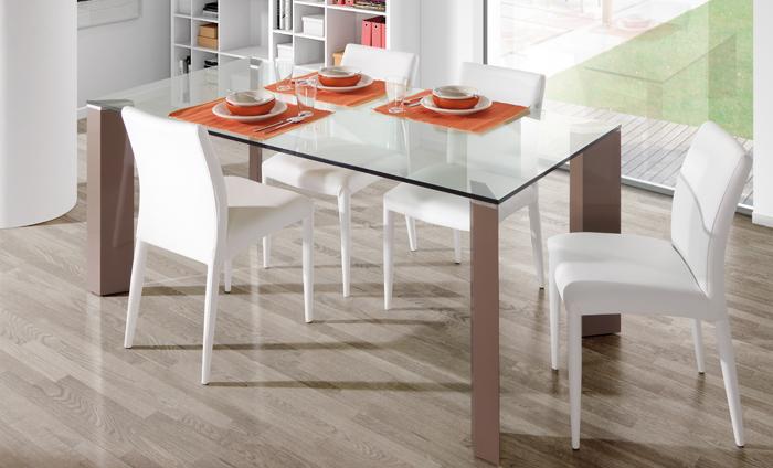 Cómo elegir mesa de cristal para tu comedor - Sin Moverte de Casa-El ...