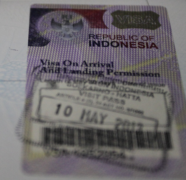 Indonesia_Visa on arrival for Indians