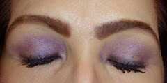wearing Purple Stilettos from All Occasion Eye Ensemble and The Party Eye Look
