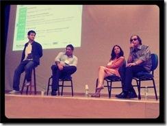 Conferência durante o World Usability Day