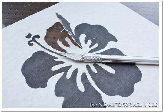Cardstock Stencil