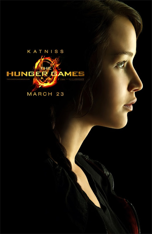The Hunger Games Jennifer Lawrence is Katniss Everdeen