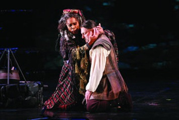 Denyce Graves and Antonello Palombi in Verdi's IL TROVATORE at Opera Carolina [Photo from jonsilla.com]
