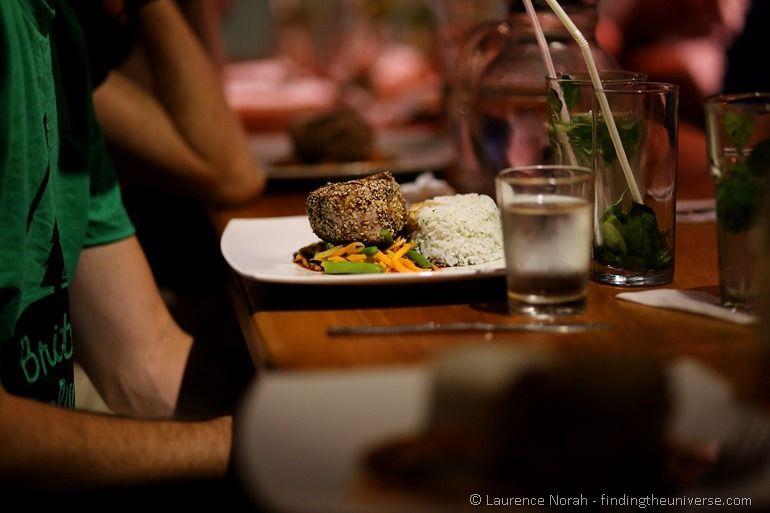 tuna steak galapagos