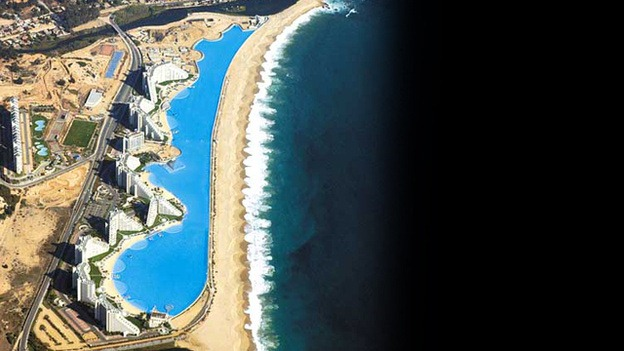 San Alfonso del Mar Seawater Pool, Chile