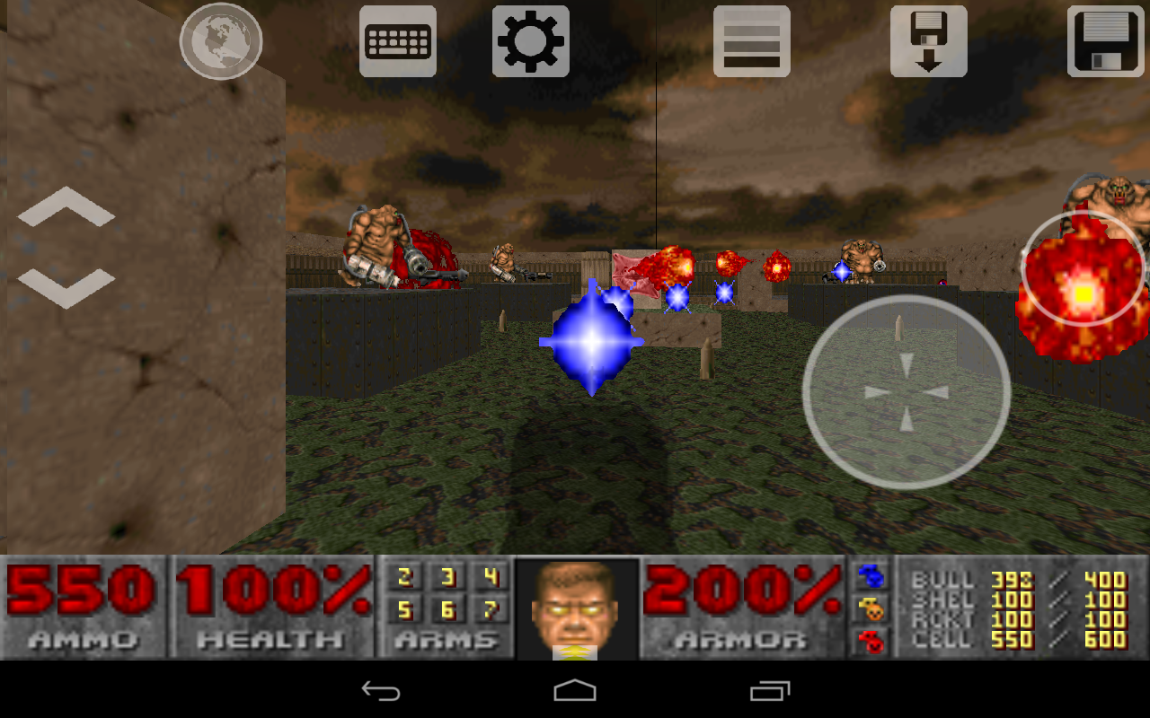 Doom Touch - screenshot