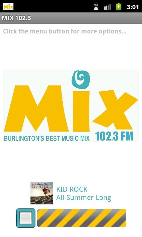 MIX 102.3- screenshot