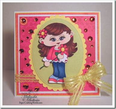 girl flower digi clipart tori 4 patty 500