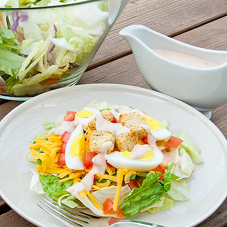 10 Best Vegetable Salad With Thousand Island Dressing Recipes
