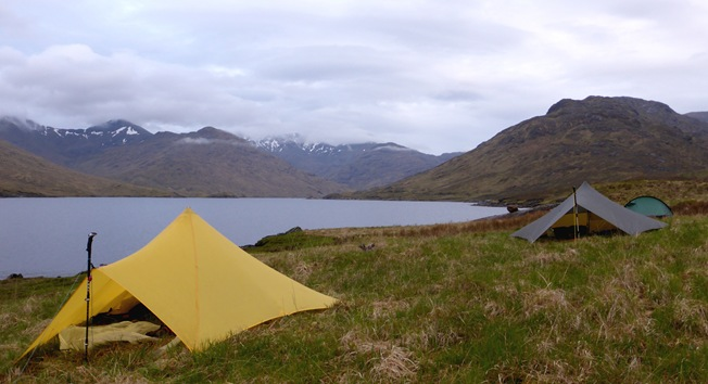 PICTURE OF LOCH QUOICH CAMP