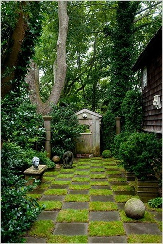 Imagine Design Tuesday Thoughts A Quote A Pretty Backyard