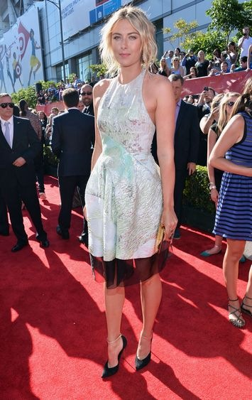 Maria Sharapova Red Carpet Arrivals ESPY Awards
